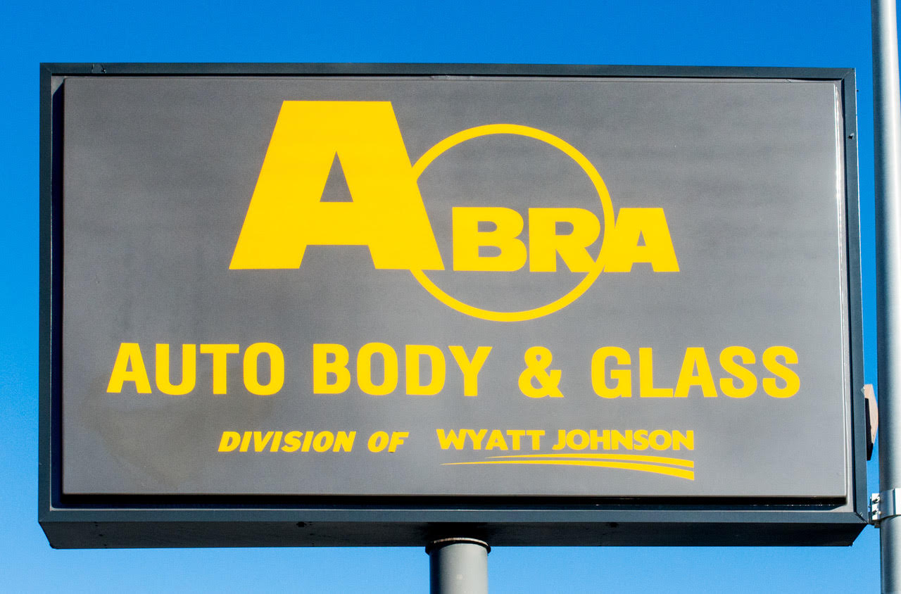 Wyatt Johnson ABRA Auto Body Billboard